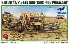 Bronco CB35071 British 17/25 pdr Anti-Tank Gun Pheasant (1:35)
