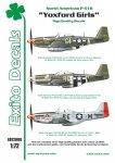 EXITO ED72008 Yoxford Girls - North American P-51D Mustang 1/72