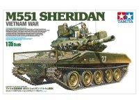 Tamiya 35365 U.S. Airborne Tank M551 Sheridan (Vietnam War) 1/35