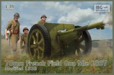 IBG 35056 75mm French Field GunMle 1897 mod.1938 1/35