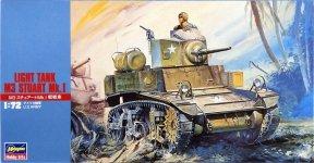 Hasegawa MT03 Light Tank M3 Stuart Mk.I (1:72)