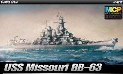 Academy 14222 BB-63 USS Missouri 1/700