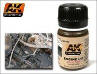 AK Interactive AK 084 Fresh Engine Oil 35ml