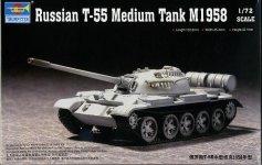 Trumpeter 07282 T-55 Medium Tank M1958 (1:72)