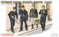 Dragon 6087 German Nav.Troops(Dieppe 1942) (1:35)