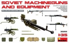 MiniArt 35255 Soviet Machineguns and Equipment 1/35