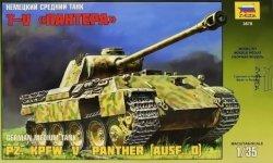 Zvezda 3678 Pz.Kpfv.V Panther (Ausf.D) (1:35)