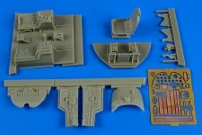 Aires 2194 A-1D (AD-4) Skyraider cockpit set 1/32 Trumpeter
