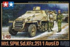 Tamiya 32564 Sd.Kfz. 251/1 Ausf.D (1:48)
