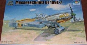 Trumpeter 02291 Messerschmitt Bf 109E-7 (1:32)