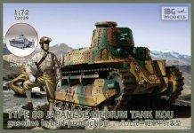 IBG 72039 type 89 Japanese Medium Tank type KOU (1:72)