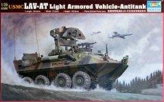 Trumpeter 00372 USMC LAV-AT Light Armored Vehicle Antitank (1:35)