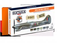 Hataka HTK-CS07 ORANGE LINE – Royal Air Force paint set 6x17