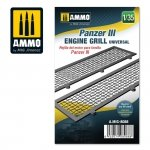 Ammo of Mig 8088 Panzer III engine grilles universal 1/35
