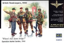 Master Box 3533 British paratroopers, 1944. Kit 1 (1:35)