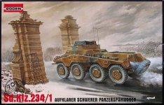 Roden 703 Sd.Kfz.234/1 Puma (1:72)