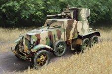 Hobby Boss 83839 Soviet BA-6 Armor Car