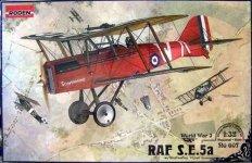 Roden 607 Raf S.E.5a (1:32)