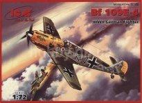 ICM 72132 Bf 109E-4 (1:72)