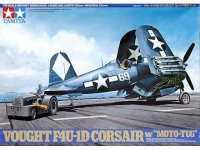 Tamiya 61085 F4U-1D Corsair w/ Moto-Tug (1:48)