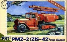 PST 72048 PMZ-2 (ZiS-42) Fire tanker 1/72