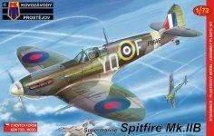 Kovozavody Prostejov KPM0056 Supermarine Spitfire Mk.IIB 1:72
