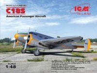 ICM 48185 C18S, American Passenger Aircraft (1:48)