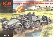 ICM 72461 Krupp L2H143 Kfz.69 with Pak 36 (1:72)