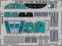 Eduard SS356 Mi-26 Halo interior 1/72 REVELL, ZVEZDA