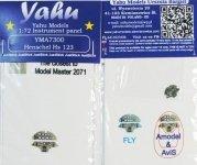Yahu YMA7300 Hs 123 Fly (1:72)