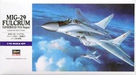 Hasegawa E11 MIG-29 w/Weapon (1:72)