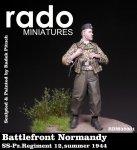 RADO Miniatures RDM35001 Battlefront Normandy SS-Schütze (SS.Pz.Reg.12 summer 1944) 1/35