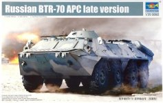 Trumpeter 01591 Russian BTR-70 APC late version (1:35)