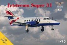 Sova 72007 Jetstream Super 31 1/72