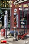 MiniArt 35616 FRENCH PETROL STATION 1930-40S 1/35