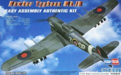 Hobby Boss 80232 Hawker Typhoon Mk.IB Fighter (1:72)
