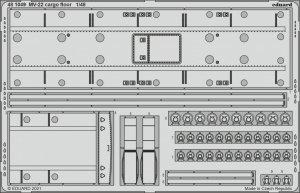 Eduard 481049 MV-22 cargo floor HOBBY BOSS 1/48