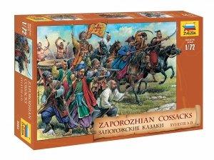 Zvezda 8064 Zaporozhian Cossacks XVI-XVIII A.D. 1/72