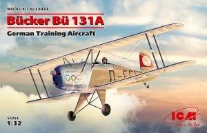 ICM 32033 Bucker Bu 131A, German Training Aircraft 1/32