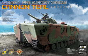 AFV Club 35141 LVTH6A1 Fire Support Vehicle Cannon Teal 1/35