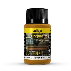 Vallejo 73814 Engine Effects - Fuel Stains 40 ml