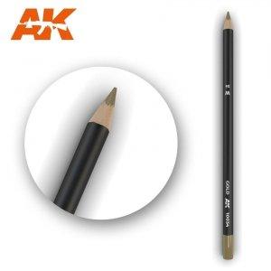 AK Interactive AK 10034 Watercolor Pencil GOLD