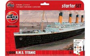 Airfix 55314 RMS Titanic Starter Set 1/1000
