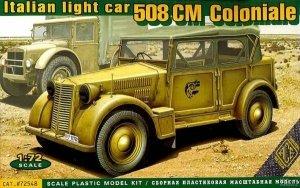 ACE 72548 Italian light military vehicle 508 CM Coloniale (1:72)
