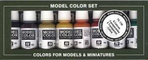 Vallejo 70136 Model Color Set Transparent Colors 8 pcs