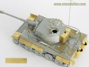 E.T. Model E72-024 WWII German TIGER I Early Production Fenders For DRAGON Kit 1/72