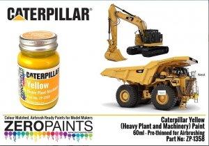 Zero Paints ZP-1358 Caterpillar Yellow (Heavy Plant and Machinery) Paint 60ml