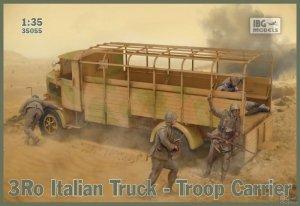 IBG 35055 3Ro Italian Truck Troop Carrier 1/35