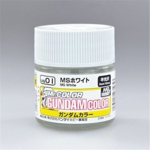 Gunze Sangyo UG-01 MS White 10 ml (Semi-Gloss)