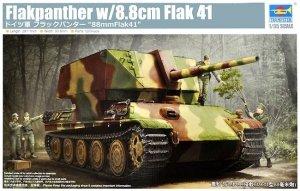 Trumpeter 09530 German Flakpanther w/8,8cm Flak 41 1/35